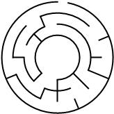 10 cells diameter theta maze